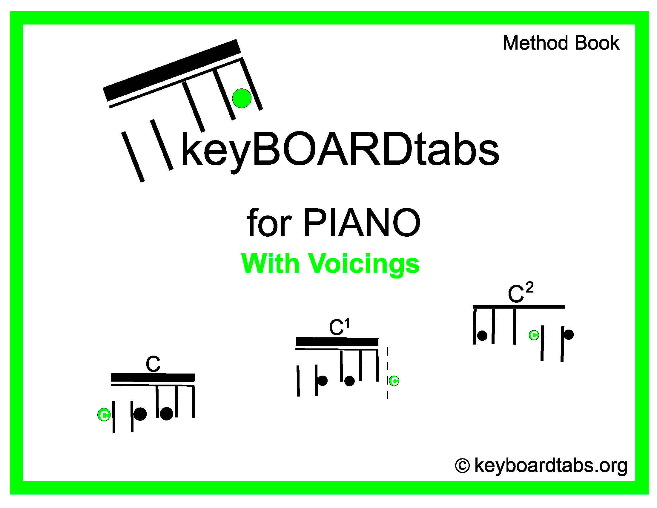 What are Keyboard Tabs - The Conservatory of Music Enhanced Education